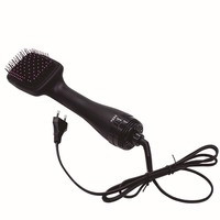 Fashion Professional 2 in 1 Lonising Paddle Brush Hair Dryer Women Salon Hair Accessories Tool High Quality HY99 JU20