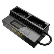 Nitecore ugp3 интеллектуальные Зарядное устройство USB Зарядное устройство для Hero3/3 + батареи ЖК-дисплей дисплей USB DC 5 В