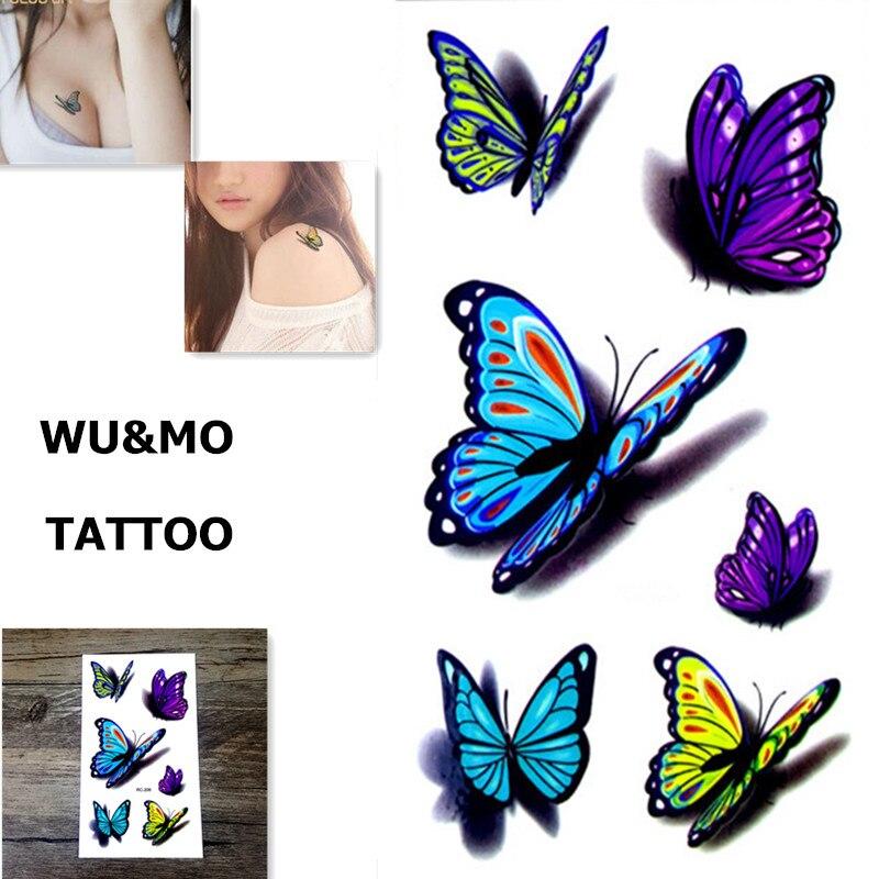 10.5x6 см Новые продукты секса Дизайн Моды Временные Татуировки Наклейки Временная Body Art Водонепроницаемый Татуировки Шаблон RC2206