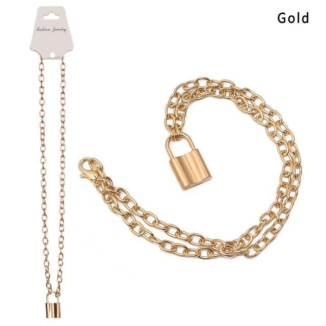 1pc Punk Jewelry Gold...