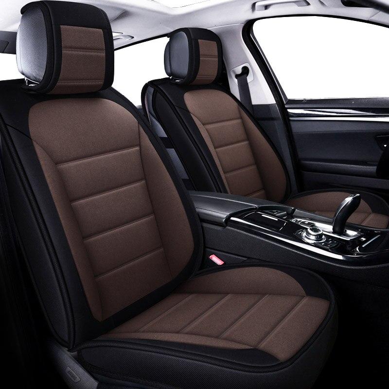 Housse de siège de voiture pour audi a3 8 p soprtback a6 4f 8l a5 100 c4 q5 q7 housse pour siège de véhicule