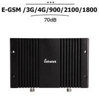 2G 3G 4G EGSM 900 WCDMA 2100 LTE 1800 mhz Cep Sinyal Güçlendirici lcd ekran Hücresel Repetidor 70dB kazanç Cep Telefonu Amplifikatör #23