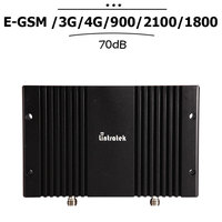 2G 3G 4G EGSM 900 WCDMA 2100 LTE 1800 mhz Mobiele Signaal Booster LCD Display Cellulaire Repetidor 70dB Gain Mobiel Versterker #23