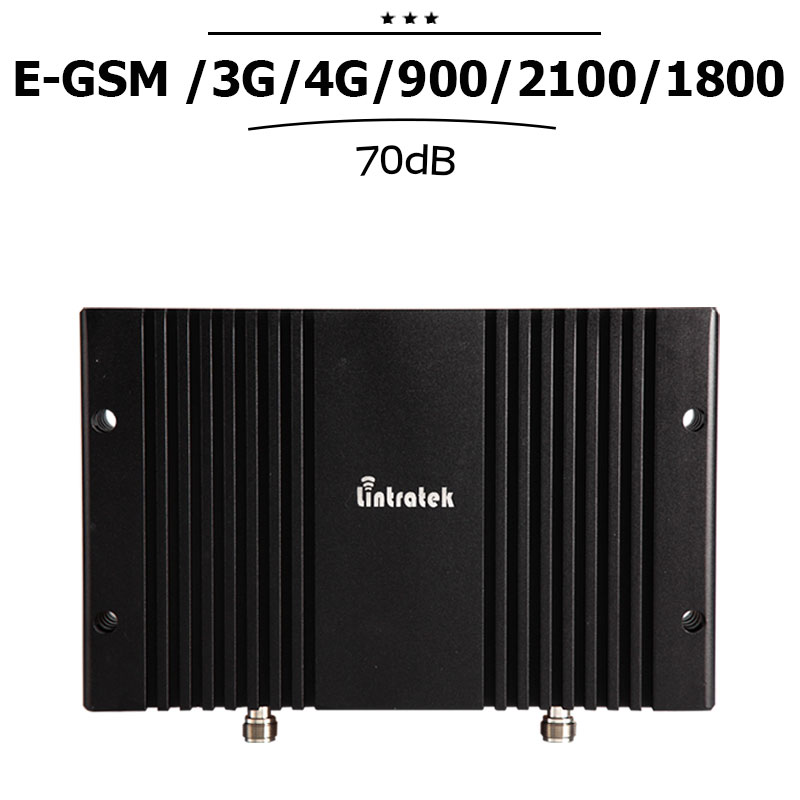 2G 3G 4G EGSM 900 WCDMA 2100 LTE 1800 Mhz Mobile Signal Booster LCD Display Cellular Repetidor 70dB Gain Cellphone Amplifier#23