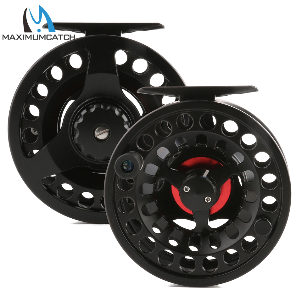 Maximumcatch Fly Fishing Reel 3-8 WT Die-Casting Large Arbor Chinese Aluminum Fly Reel maximumcatch hvc 7 8 weight exclusive super light fly reel chinese cnc fly fishing reel large arbor aluminum fly reel