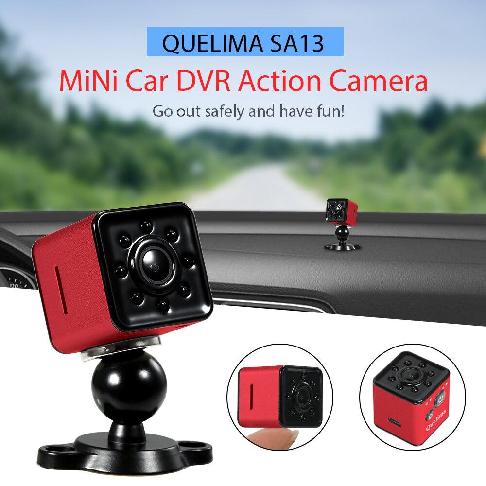 Quelima Mini 1080 p FHD Auto DVR Kamera Unterstützung APP Control Über Wifi Cam Dash Kamera SQ13 Rot Silber Schwarz