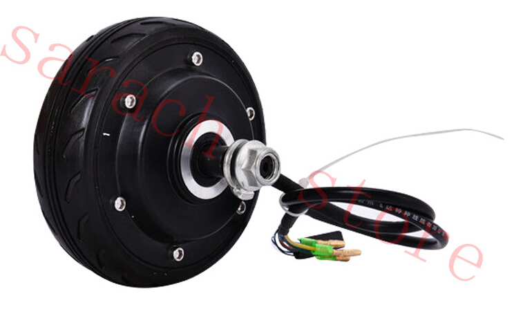 5 150w 48v Electric Wheel Hub Motor E Scooter Parts