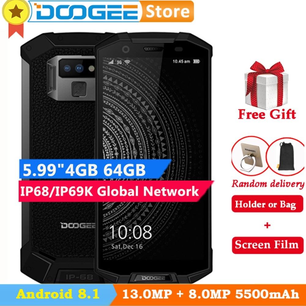 DOOGEE S70 lite 4GB 64GB Global Dual 4G IP68 Waterproof Phone Android 8 1 5 99