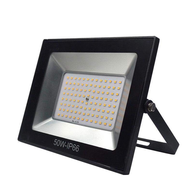 Светодиодный прожектор 30 Вт 50 Вт 100 Вт отражатель светодиодный прожектор 10 Вт 240 В Водонепроницаемый IP66 Spotlight настенный светильник Наружное ...