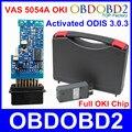 Mais novo 3.0.3 VAS5054A ODIS OKI Chip de VAS 5054A Bluetooth Completo VAS5054 Um Protocolo UDS Apoio Ferramenta de Diagnóstico Do Carro USB 5054 Scanner