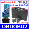 Newest ODIS 3.0.3 VAS5054A OKI Full Chip VAS 5054A Bluetooth USB VAS5054 A Support UDS Protocol Car Diagnostic Tool 5054 Scanner