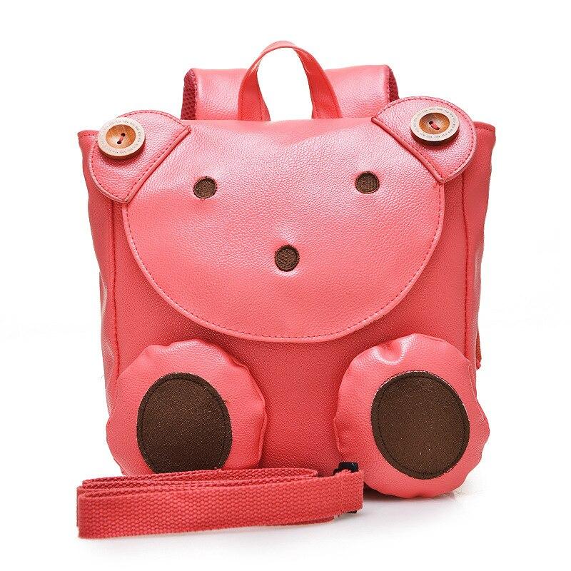 2016 Cute Bear Anti lost School Bags For Girls Boys Kindergarten Children Backpacks Kids Bags Mochila