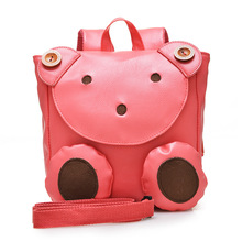 2016 Cute Bear Anti-lost School Bags For Girls Boys Kindergarten Children Backpacks Kids Bags Mochila Baby Gifts For Age 1-3