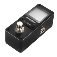 AT07 Guitar Pedal Tuner Bass Tuner Guitarra Effects Pedal Tuner Chromatic Tuning Model High Sensitivity HD display
