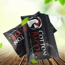 5 Bags High Quality Cotton Bacon rda cotton For RDA RBA Atomizer e cig DIY Electronic Cigarette Heat Wire Organic cotton