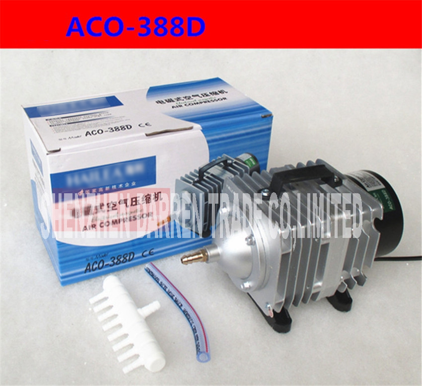 ACO-388D 90L / min 85W/70W Oxygen fish tank air pump 220 V AC Electromagnetic pond aerator bubble Aquarium air compressor