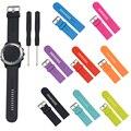 Correa de silicona correas de reloj de reemplazo para garmin fenix 3/2/hr/quatix/tactix/d2 smart watch accesorios con la herramienta de instalación