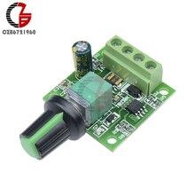 30W 2A Voltage Regulator PWM DC Motor Speed Controller DC 1.8V-15V Adjustable DC Motor Speed Regulator Governer Control Switch