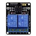 5 В 2 2-канальный Релейный Модуль Щит Для Arduino ARM PIC AVR DSP MCU Электронный