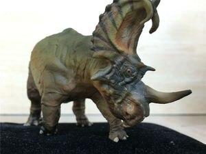 Image 4 - Pnso spinops centrosaurus styracosaurus恐竜フィギュア玩具コレクタ子供ギフト