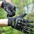 Pilotos de esportes ao ar livre primavera verão outono homens e mulheres de carro elétrico da motocicleta luvas de dedos completos