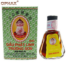 3PCS/LOT OPHAX Natural herbal Buddha Oil 5ML headache essential oil for headache relieve back pain relief patch Active oil X238G