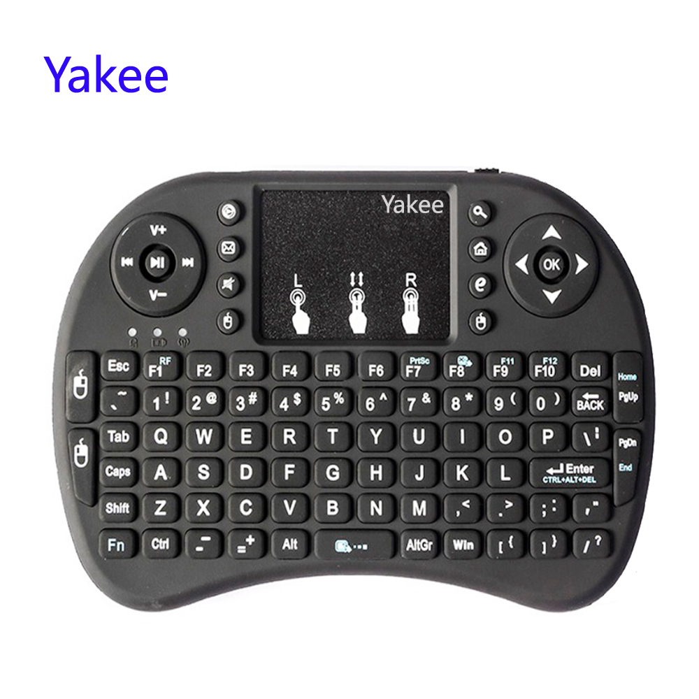 For Android TV Box 8.1 T9 X96 Mini TX3 Min X96 I8 Keyboard 2.4GHz Air Mouse Wireless Keyboard Remote Control Touchpad