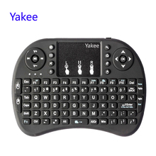 For Android TV Box 8.1 T9 X96 mini TX3 min X96 i8 Keyboard 2.4GHz Air mouse Wireless Keyboard Remote Control Touchpad q9 mini keyboard 2 4ghz wireless keyboard with touchpad air mouse remote control for android tv box t9 x96 mini max aaa battery