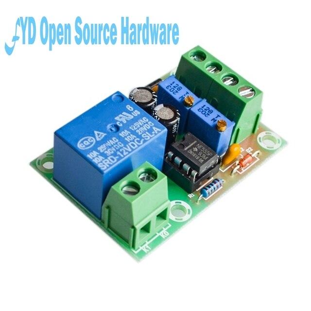 XH-M601 контроль зарядки аккумулятора 12 в «умное» Зарядное устройство блок управления питания панель автоматическая зарядка/стоп-переключатель