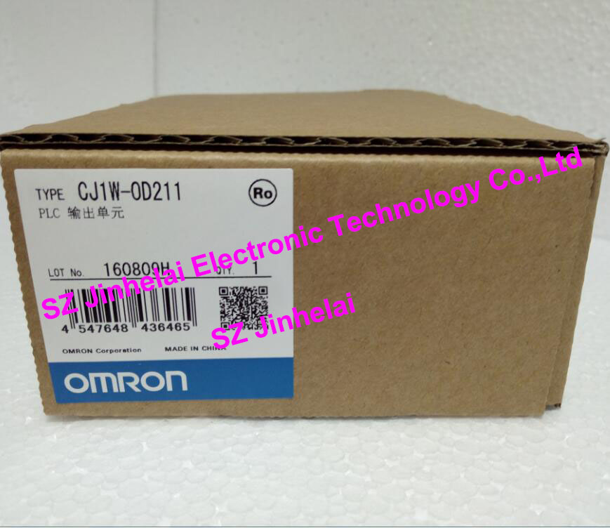 New and original CJ1W-OD211  OMRON PLC OUTPUT UNIT new and original e3x da11 s omron optical fiber amplifier photoelectric switch 12 24vdc