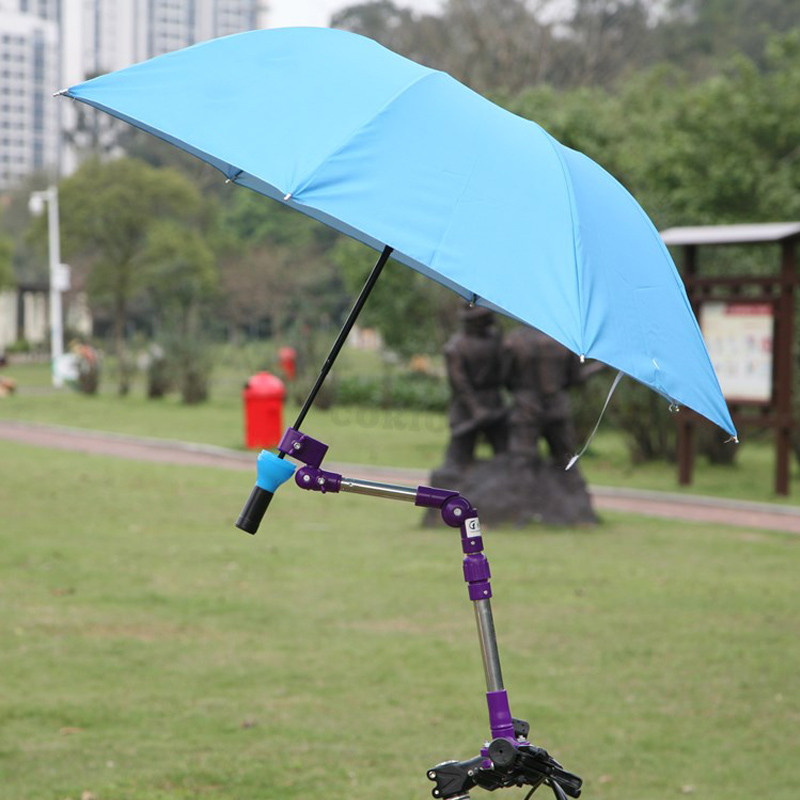 Bicycle Accessories Stainless Steel Umbrella Stands Bicycle Parts Mountain Bike Accessories Any Angle Swivel