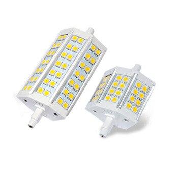 R7s led 전구 옥수수 5050 smd 78mm 118mm 빛 12 w 20 w lampadas 할로겐 램프를 대체하십시오 ac 85-265 v 투광 램프