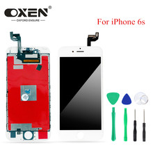 цены OXEN AAA+++ 4.7 inches LCD Display for iPhone 6s iPhone6s LCD Touch Screen Digitizer Assembly Replacement Pantalla With Tools