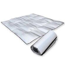 Фольга алюминиевая матрас eva спальный надувной мат pad кемпинг складной открытый