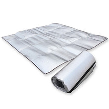 Foldable Sleeping Mattress Mat Pad Waterproof Aluminum Foil EVA Outdoor Picnic Camping Mat Sleeping mattress Climb Blanket(China)