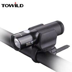 TOWILD BC05 CREE XM-L2 U3 LED 1100 lumenów na zewnątrz wodoodporny lampa przednia do roweru