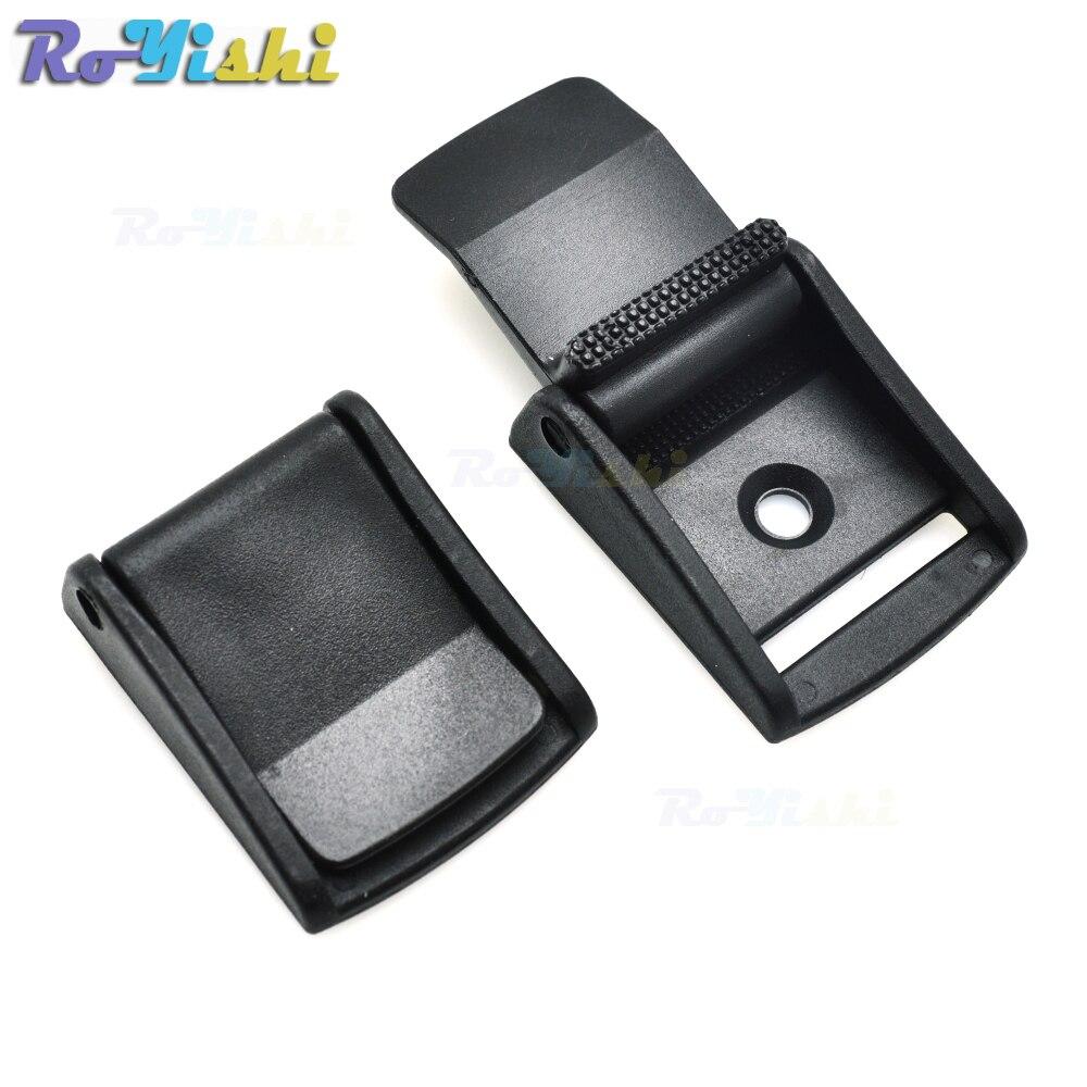 Noir Sangle Clip ceinture EDC//MOLLE CLIP et D-Ring Avec Porte-Clés Fixation