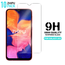 10 Pcs Tempered Glass For SAMSUNG GALAXY A10 Screen Protector 2.5D 9H Tempered Glass For Samsung Galaxy A10 Protective Glass mr northjoe 10808 protective tempered glass screen protector for samsung galaxy s5 transparent