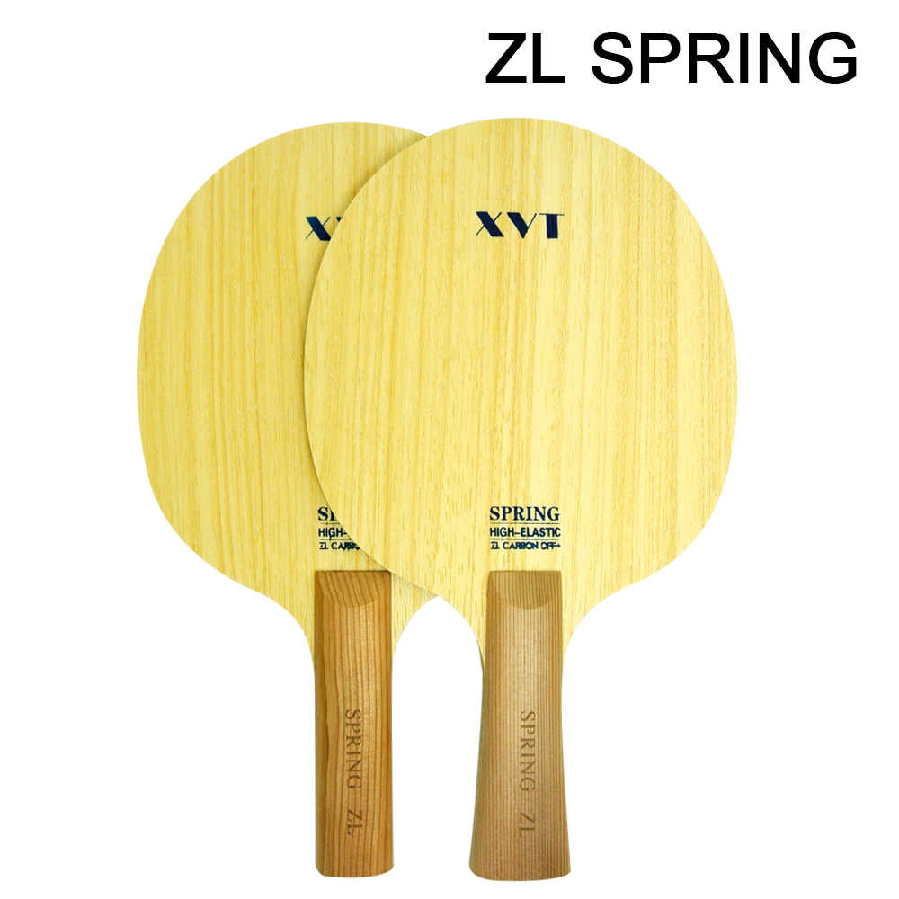 XVT ZL Spring ZL Carbon Fiber Table Tennis Blade/ ping pong Blade/ table tennis bat
