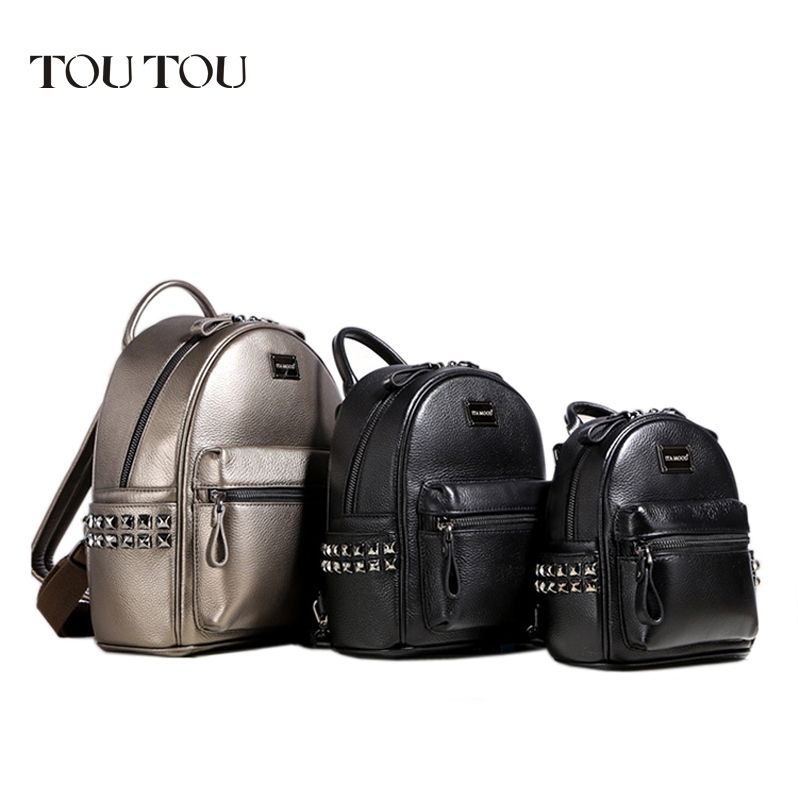 A1601 TOUTOU brand designer Mini rivet backpack pu leather  backpack female Small bags famale college schoolbag sac de marque for asus x75vd x75v x75vc x75vb x75vd x75vd1 r704v motherboard x75vd rev3 1 mainboard i3 2350 gt610 1g ram 4g memory 100