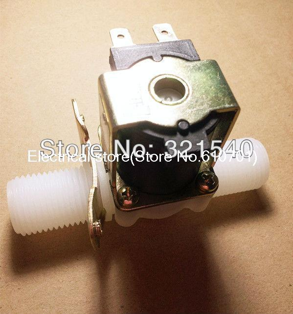 1/2BSPP Male 2Way Nylon Plastic Solenoid Valve 12VDC Normally Open NO Pilot Water Air Gas Heater Washer Wash Machine 5 way pilot solenoid valve sy3220 3d 01