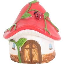 Miniatures DIY Crafts Fairy Figurines Mini House Garden Decoration Micro Landscape Resin