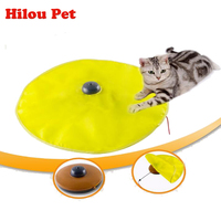 New Undercover Fabric Moving Mouse Cat Toy Cats Meow Play For Cat Kitty Funny Puzzle Toys