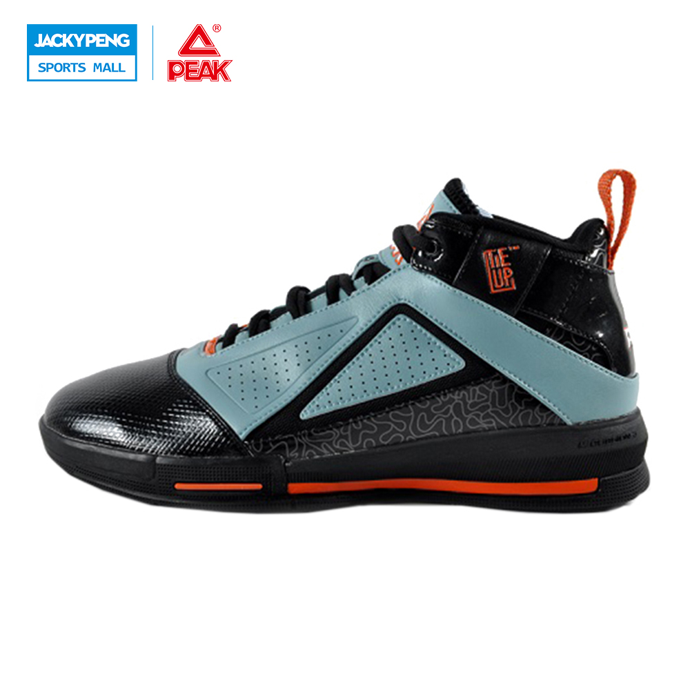 PEAK SPORT Men Basketball Shoes Breathable Athletic Training Sports Shoes Ankle Boots Medium Cut Durable Rubber Outsole Sneakers original li ning men professional basketball shoes