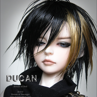 Free shipping! face makeup&eyes included ! top quality 1/3 bjd Ducan male doll 70cm male doll sd dod homme free shipping face makeup