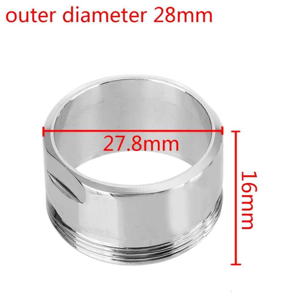 Filtre à eau adaptateur argent économie d'eau robinet robinet aérateur purificateur d'eau filtre buse avec rondelle en caoutchouc accessoires de cuisine