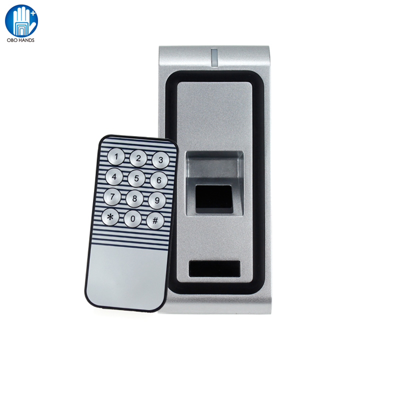 F2 Standalone Fingerprint Waterproof Access Control System Of Zinc Alloy Material With 500 Standard Users mf2300 f2