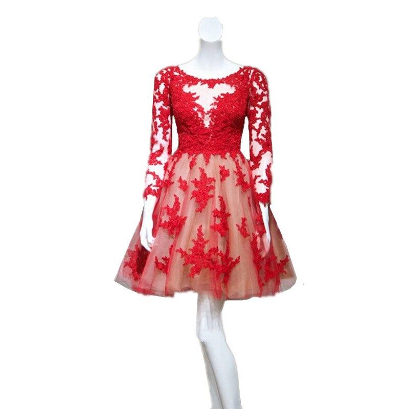 Lujo Vestidos De Fiesta De Color Rojo Para Los Jóvenes Festooning ...