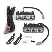 Big Sale 2pcs 18W High Power LED Auto Car Daytime Running Light DRL Fog Light Lamp