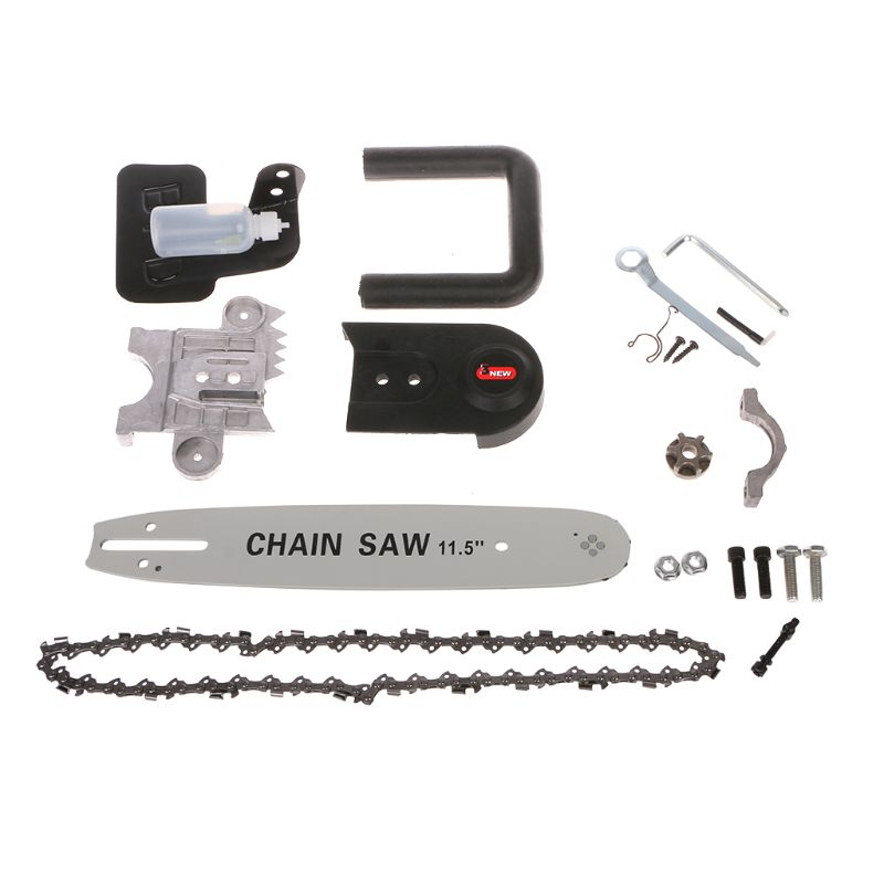 DIY Electric Saw Chain 11.5 Chainsaw Stand Bracket Wood Cut For Angle Grinde Woodworking ToolDIY Electric Saw Chain 11.5 Chainsaw Stand Bracket Wood Cut For Angle Grinde Woodworking Tool